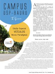 Jornal Campus USP-Bauru Informa - Ano I - No. 01 - Novembro 2013