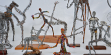 Centro Cultural expõe esculturas de arame