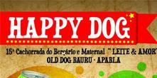 Happy Dog, nesta quinta, em prol da Apabla