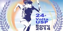 Come�am inscri��es da 24� Volta USP Bauru