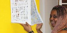 Deficiente visual expõe sua arte na USP