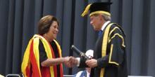Drª. Fidela recebe título do King's College London