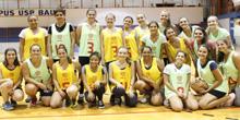 Esporte e homenagem: Mulheres na quadra