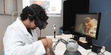 Simulador realiza treino de técnica anestésica